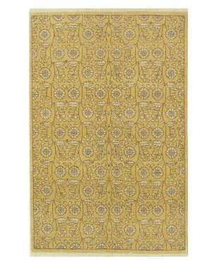 Eastern Rugs Agra 13781 Gold Area Rug