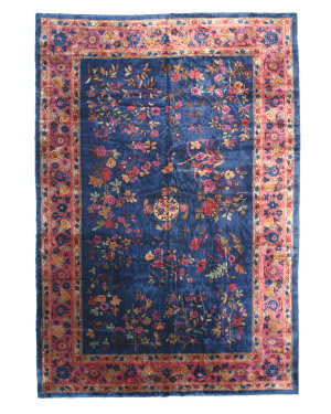 Eastern Rugs Feti 4202 Blue Area Rug