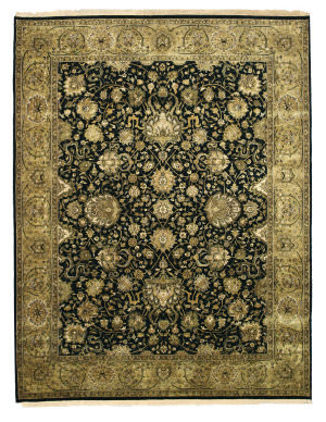Eastern Rugs One-Of-A-Kind 4212 Black Area Rug