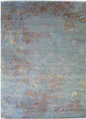 Eastern Rugs Galaxy 42124 Blue Area Rug