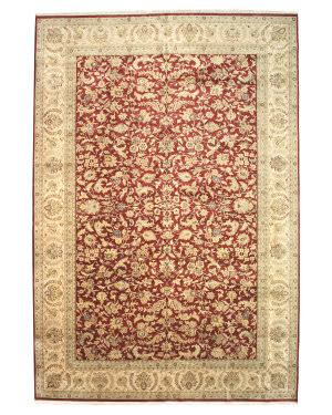 Eastern Rugs One-Of-A-Kind 9005 Red Area Rug