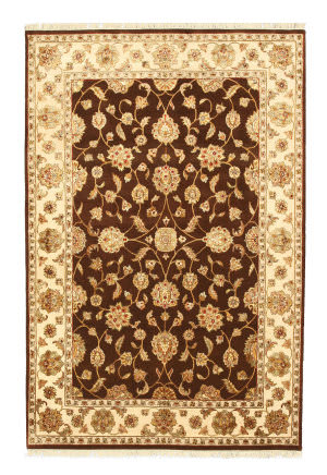 Eastern Rugs One-Of-A-Kind 9008 Brown Area Rug