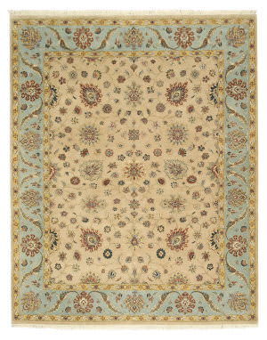 Eastern Rugs One-Of-A-Kind 9038 Beige Area Rug