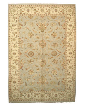 Eastern Rugs Agra 9142 Grey Area Rug