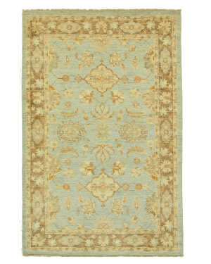Eastern Rugs Peshawar 9319 Blue Area Rug