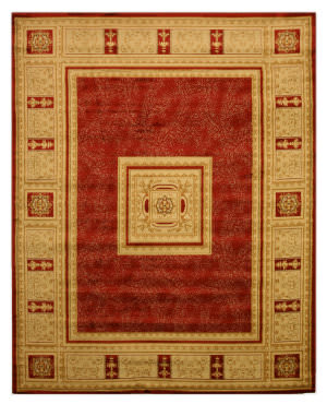 Eastern Rugs Antep Ant4670 Red Area Rug