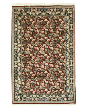 Eastern Rugs Pak-Persian Ba26011 Red Area Rug