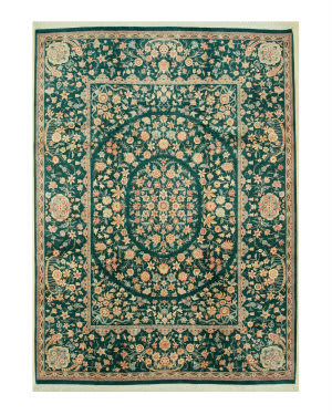 Eastern Rugs Pak-Persian Ba6573 Green Area Rug