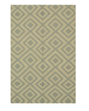 Eastern Rugs Reversible Kilim Dm88bg Beige Area Rug