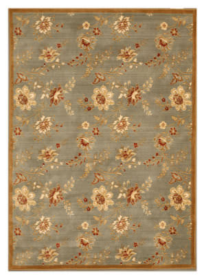 Eastern Rugs Pankaj F6003bl Blue Area Rug