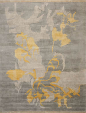 Eastern Rugs Art Ie114gy Gray Area Rug
