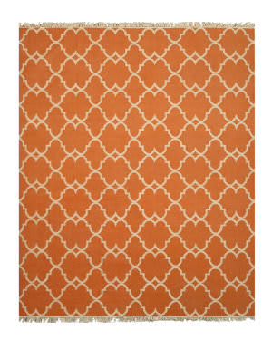 Eastern Rugs Picaso Ie51or Orange Area Rug