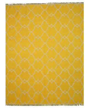 Eastern Rugs Picaso Ie51yl Yellow Area Rug