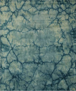 Eastern Rugs Dip Dyed Ka103tl Green Area Rug
