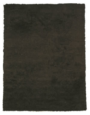 Eastern Rugs Shag Oshg1bk Black Area Rug