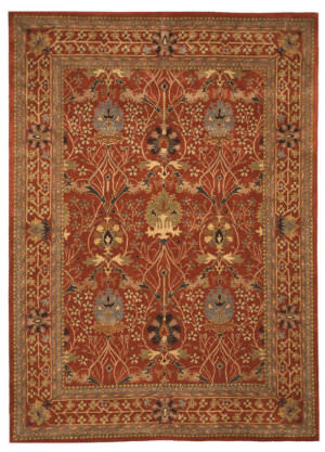 Eastern Rugs Classic Ot31rt Rust Area Rug