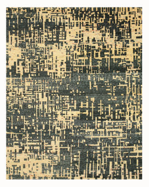Eastern Rugs Anand Pj100bl Blue Area Rug