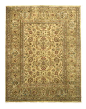 Eastern Rugs Tabriz Sa58gd Gold Area Rug