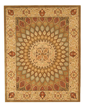 Eastern Rugs Classic Sht12bn Brown Area Rug
