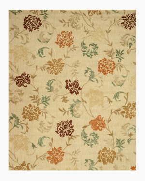 Eastern Rugs Carolina T123iv Beige Area Rug