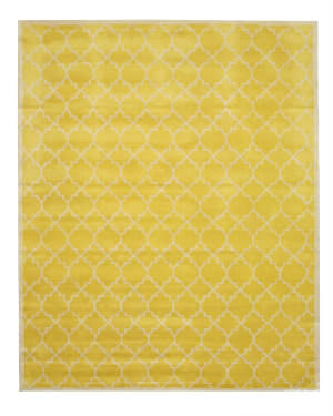 Eastern Rugs Moroccan T126yl Yellow Area Rug