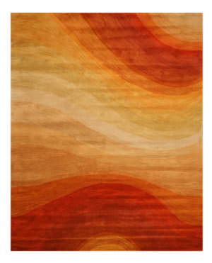 Eastern Rugs Madrid T90or Orange Area Rug