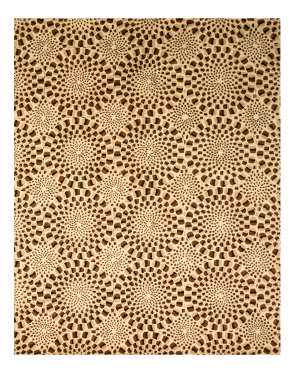 Eastern Rugs Madrid T98bn Brown Area Rug