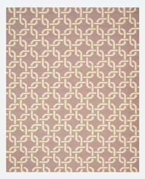 Eastern Rugs Dhurrie Tlnk1pp Purple Area Rug