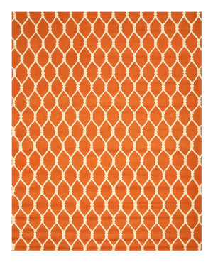 Eastern Rugs Modern Vc1001or Orange Area Rug