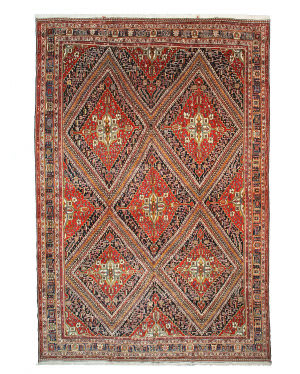 Eastern Rugs Antique Ghashghai X25070 Red Area Rug