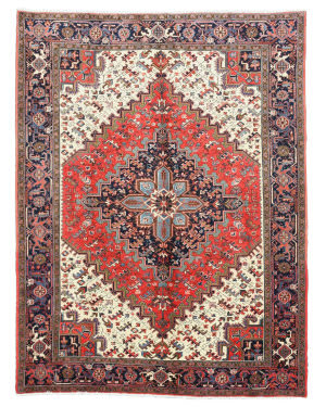 Eastern Rugs One-Of-A-Kind X25977 Red Area Rug