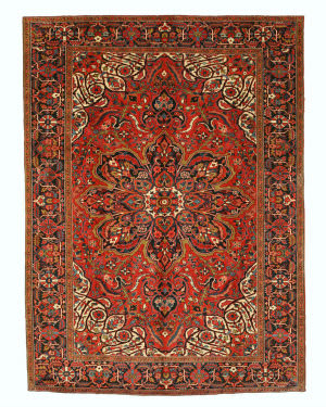 Eastern Rugs Heriz X26045 Rust Area Rug