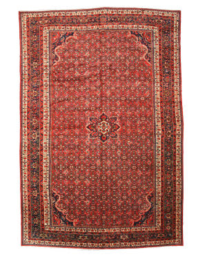 Eastern Rugs Hosseinabad X27723 Red Area Rug