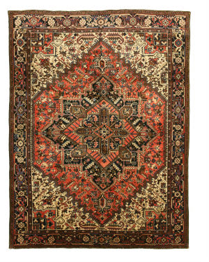 Eastern Rugs Heriz X29257 Rust Area Rug