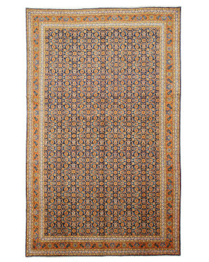Eastern Rugs One-Of-A-Kind X31131 Navy Area Rug