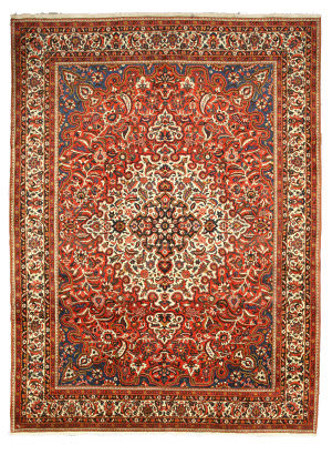 Eastern Rugs One-Of-A-Kind X32531 Ivory Area Rug