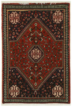 Eastern Rugs Abadeh X32695 Rust Area Rug