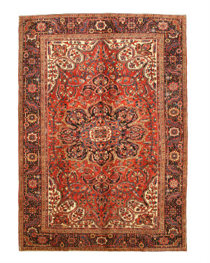 Eastern Rugs Heriz X33196 Rust Area Rug