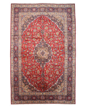 Eastern Rugs Kashan X34277 Red Area Rug