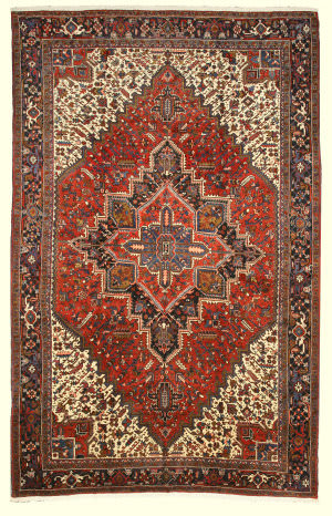 Eastern Rugs One-Of-A-Kind X34312 Rust Area Rug