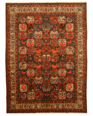 Eastern Rugs Bakhtiar X34427 Multi Area Rug
