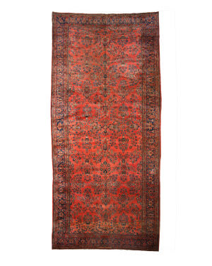 Eastern Rugs Sarouk X34429 Rust Area Rug