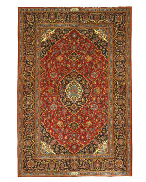 Eastern Rugs Shadsar Kashan X34783 Red Area Rug