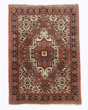 Eastern Rugs Bidjar X34798 Rust Area Rug