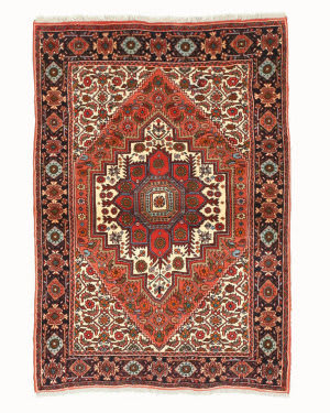 Eastern Rugs Bidjar X34985 Rust Area Rug