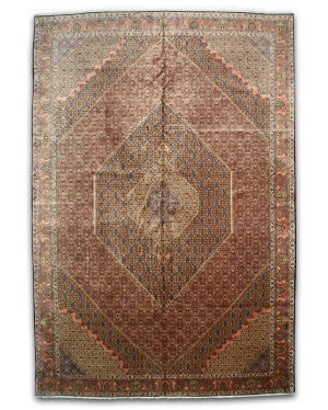 Eastern Rugs Bidjar X35004 Rust Area Rug