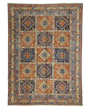 Eastern Rugs One-Of-A-Kind X35022 Blue Area Rug