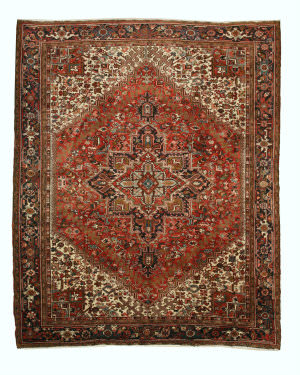 Eastern Rugs Heriz X35147 Rust Area Rug