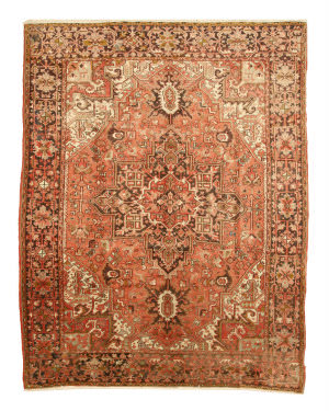 Eastern Rugs Heriz X35150 Rust Area Rug