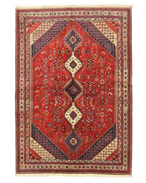 Eastern Rugs Yalameh X35155 Red Area Rug